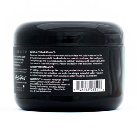 Skincare - Clay Mask side1 7.1oz