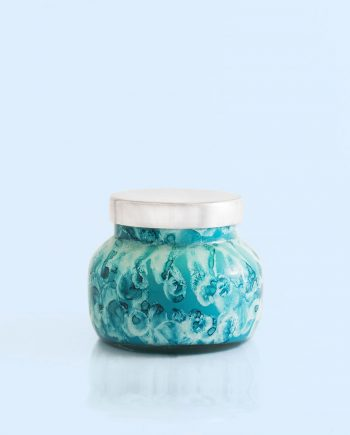 Candle capri BLUE -volcano-petite-watercolor-jar